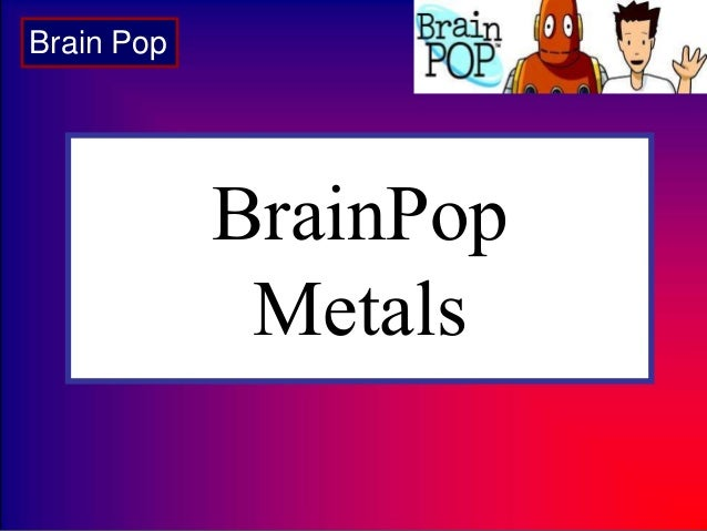Cst review elements and periodic table brainpop metals brain pop urtaz Image collections