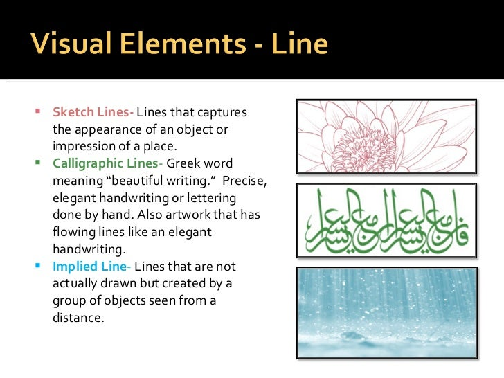 The Definition Of Line In Art : Elements principles of design