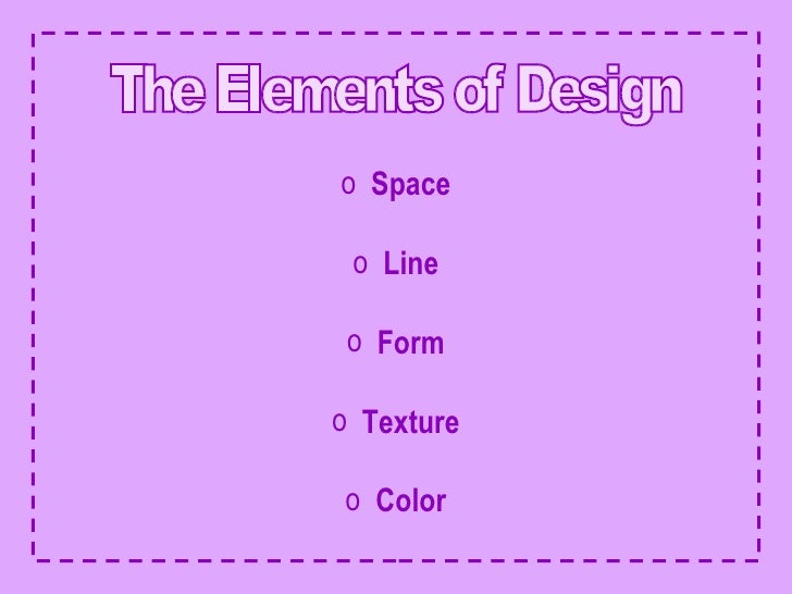 The Elements Of Design UlliSpace
