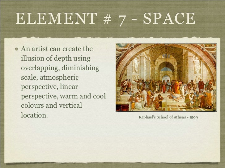 Arts And Elements : Elements and principles