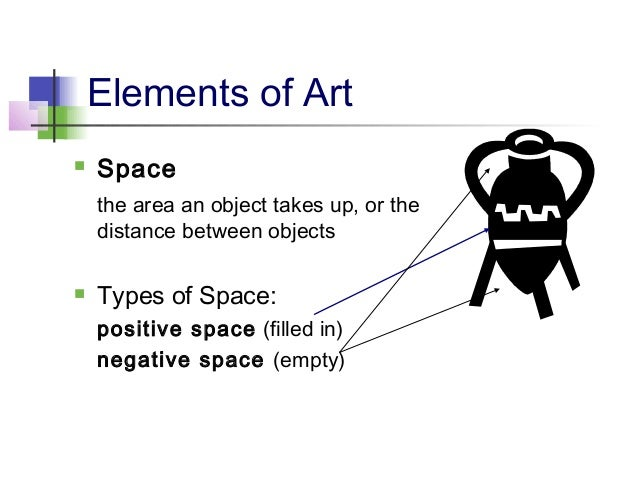 Elements Of Art Space : Elements principles of art