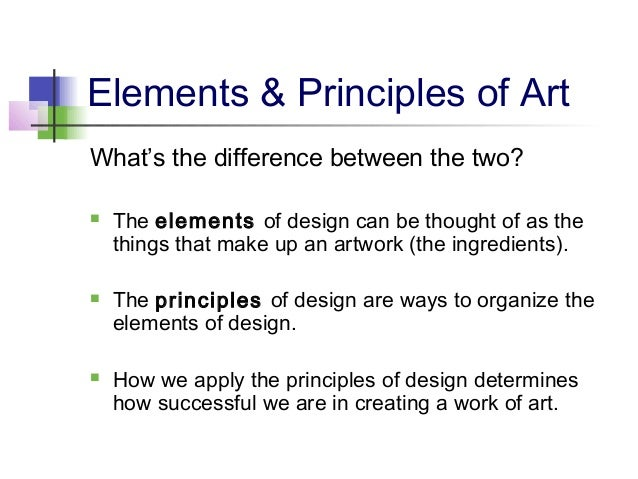 Different Principles Of Art : Elements principles of art