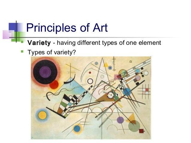 Principles Of Art Variety : Elements principles of art