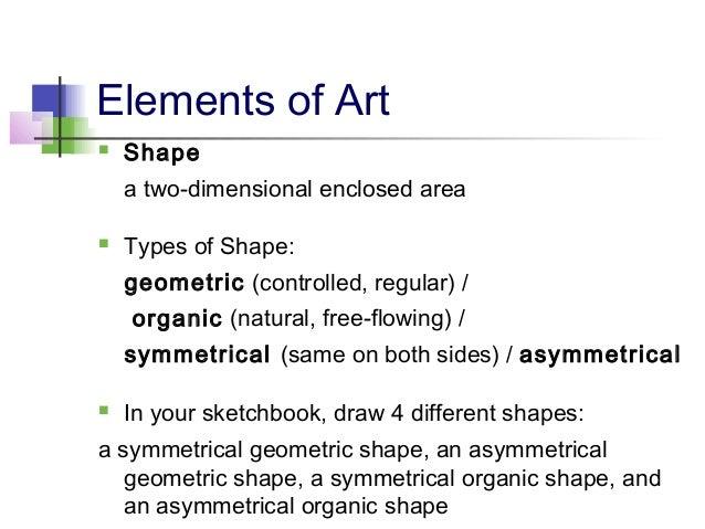 Elements Of Fine Arts : Elements principles of art
