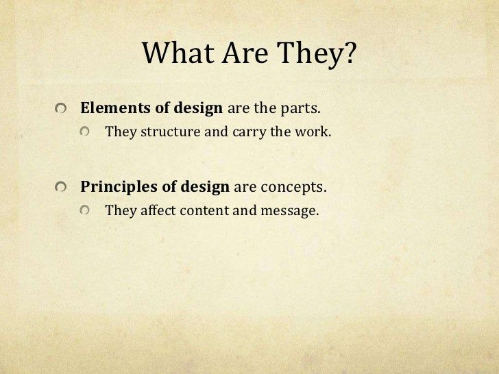 List Of Elements Of Design : Elements principles of art design powerpoint