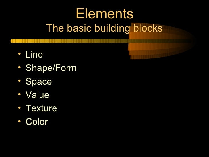 Graphic Design Elements And Principles Powerpoint
