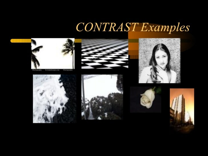 Principles Of Design Contrast : Elements and principles of design in photography