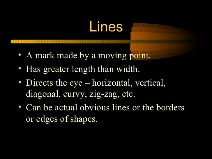 Elements and Principles of Design in Photography Slide 3