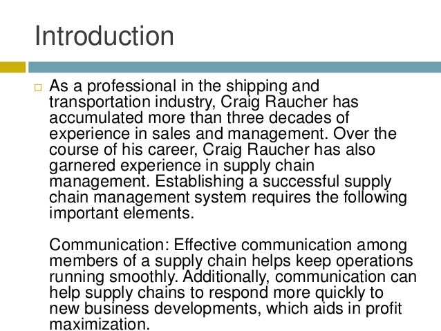Elements That Make a Supply Chain System Successful Slide 2