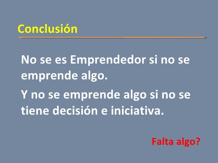 El Emprendedor Slide 3