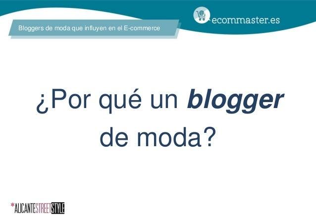 III Congreso Ecommaster - Moda y Ecommerce (Elena Vidal) Slide 2