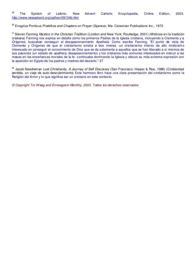 29 The System of Leibniz, New Advent Catholic Encyclopedia, Online Edition, 2003. http://www.newadvent.org/cathen/09134b.h...