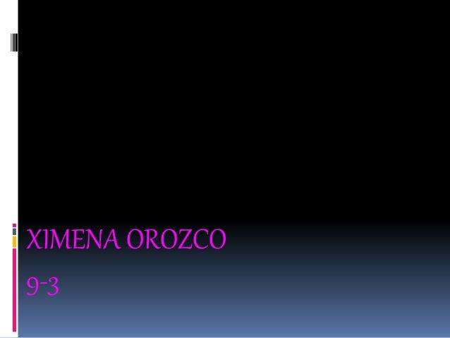 TEMA: EL ENSAYO XIMENA OROZCO 9-3