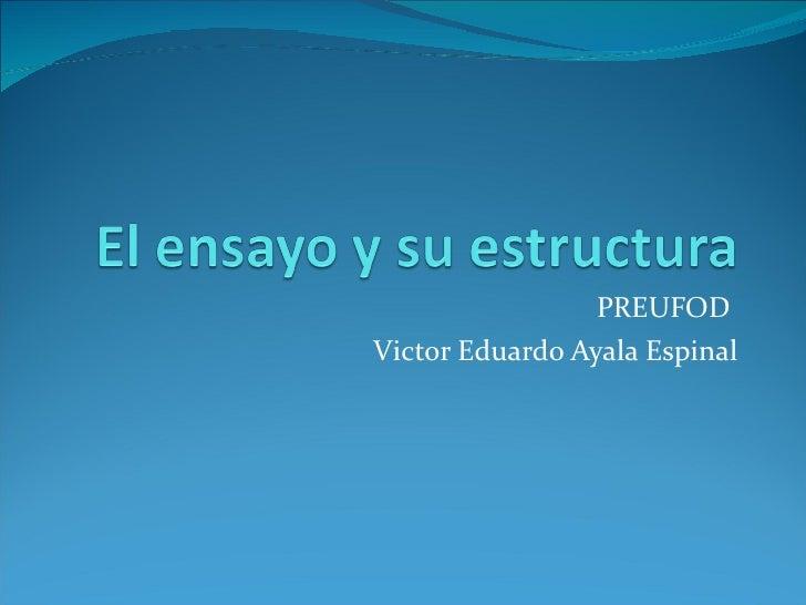 PREUFODVictor Eduardo Ayala Espinal