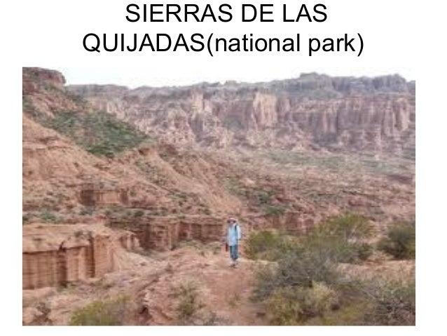 SIERRAS DE LAS QUIJADAS(national park)
