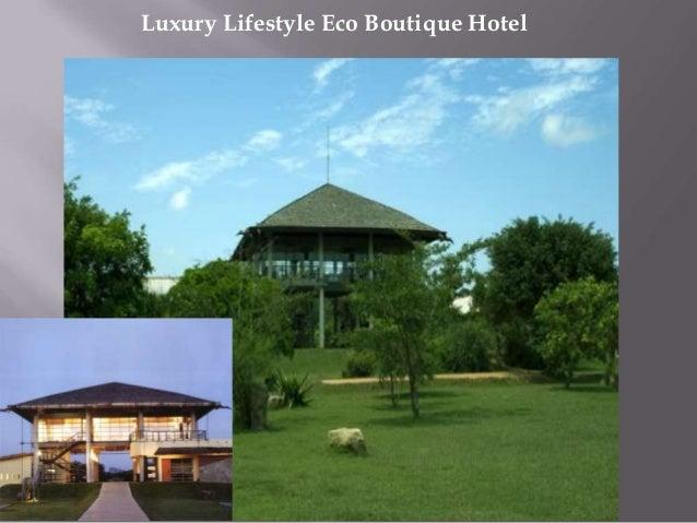 Luxury Lifestyle Eco Boutique Hotel