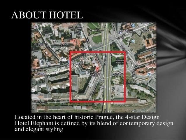 Literature study on elephant hotel prague for Design hotel elephant praga
