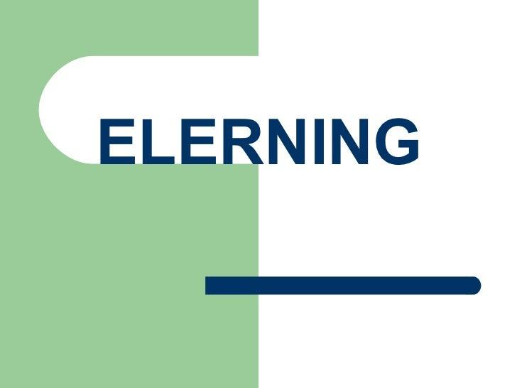 ELERNING