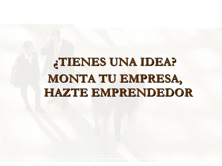 El Espíritu Emprendedor Slide 2