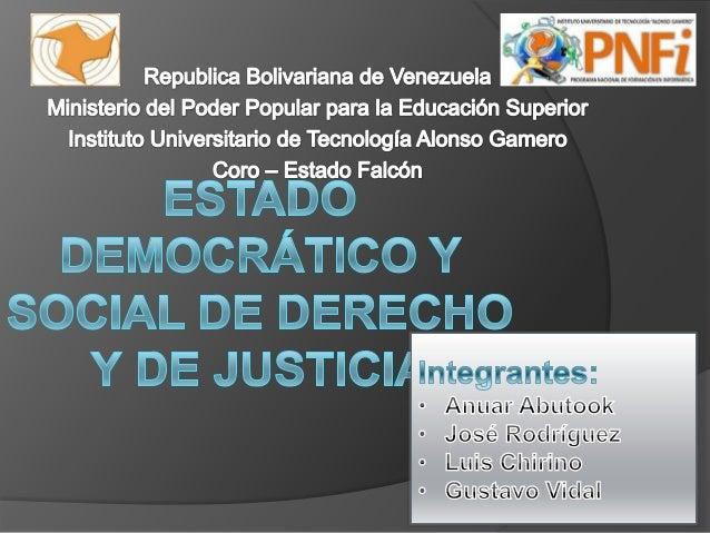 - Un Estado es fundamental para todoestudio de ciencia política así como derechopúblico y constitucional.