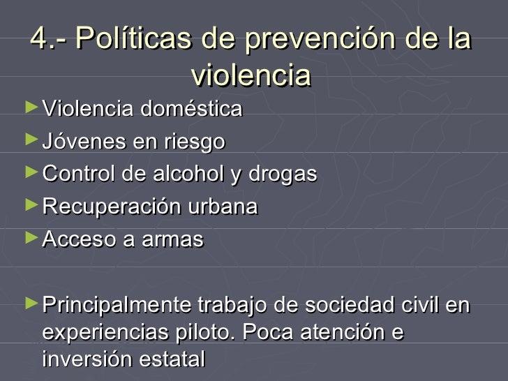 5.- Estrategias múltiples encabezadas             por gobiernos localesColombia: Cali, Bogotá y Medellín.Brasil: Diadema,...