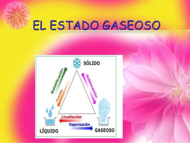 EL ESTADO GASEOSO
