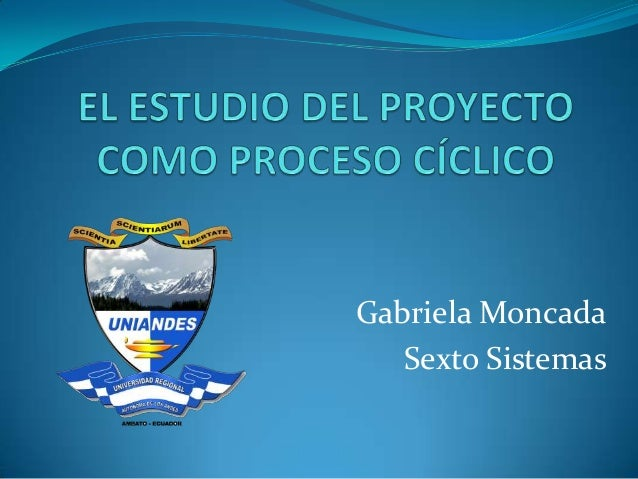 Gabriela Moncada Sexto Sistemas