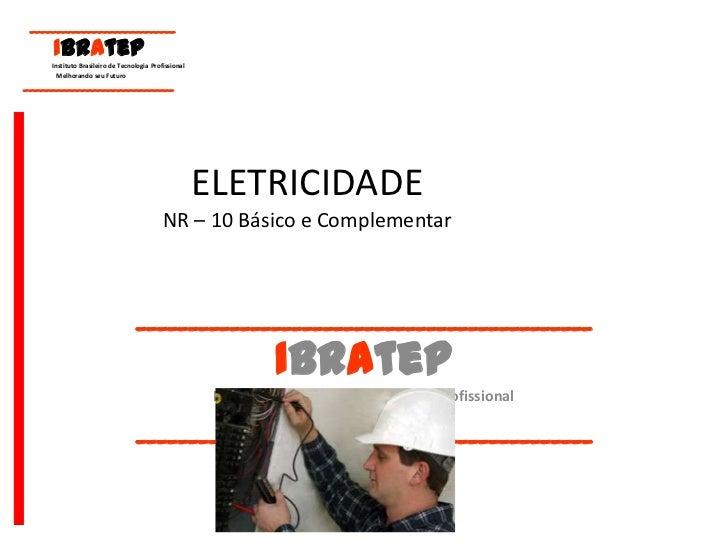 ELETRICIDADE NR – 10 Básico e Complementar br    89c6df1d67