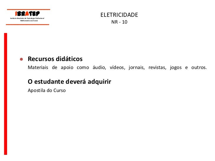 Eletricidade nr10 a1b9918d64