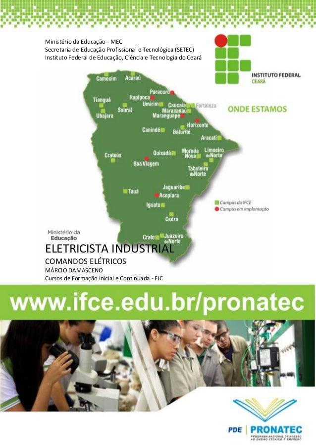 [Digite texto] Ministério da Educação - MEC Secretaria de Educação Profissional e Tecnológica (SETEC) Instituto Federal de...