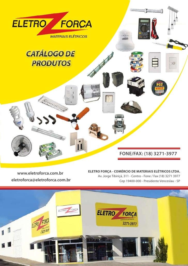 Eletro força - catálogo completo
