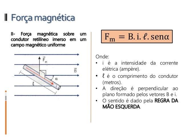 bd751cc9a12 ... força magnética que age no condutor percorrido por corrente elétrica