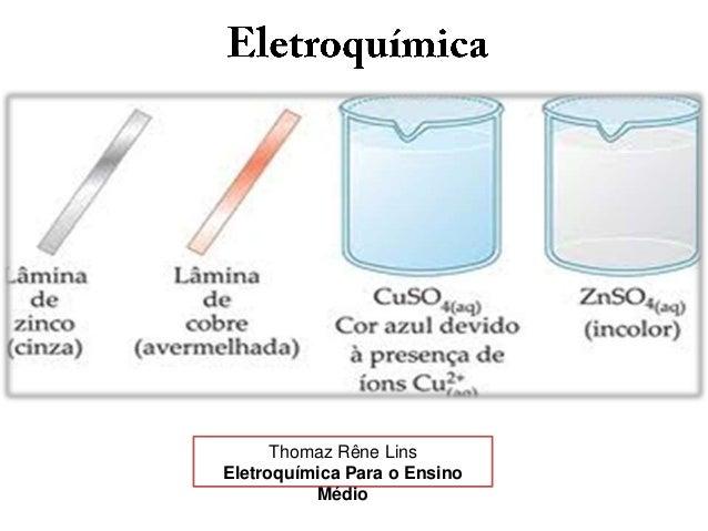 Thomaz Rêne Lins Eletroquímica Para o Ensino Médio