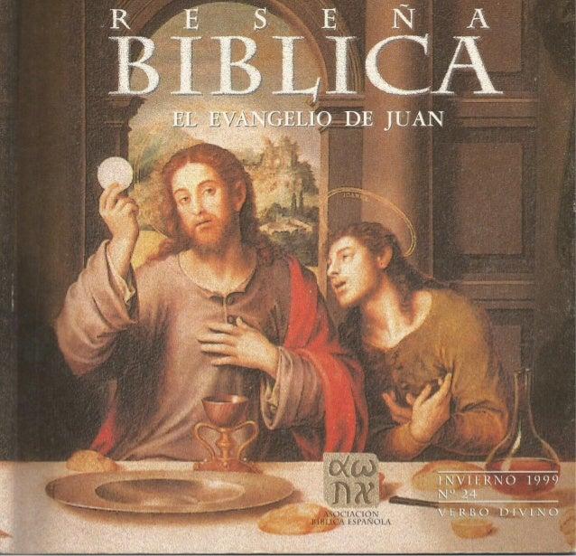El Evangelio de San Juan (reseña bíblica)