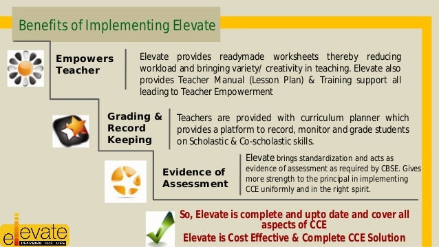 the benefits to implementing a training There are several benefits to conducting a training needs assessment some of the remarkable benefits • earn respect of senior management for implementing.
