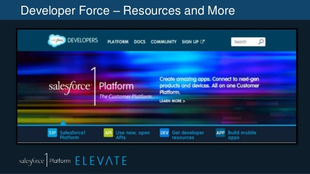 Developer Force – Resources and More