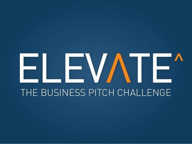 THE BUSINESS PITCH CHALLENGE