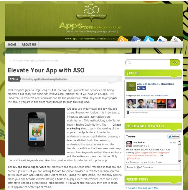 IJ Get Value Added App Optimizations Services Posted by applicationstoreoptimizationAPR 15 Elevate Your App with ASO Market...