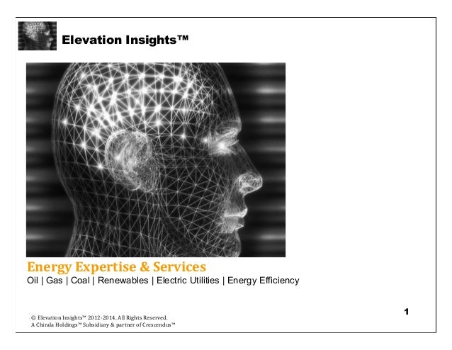 Elevation Insights™   Energy Intelligence & Insight Services