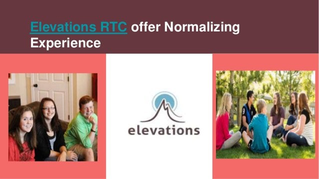 Elevations RTC offer Normalizing Experience