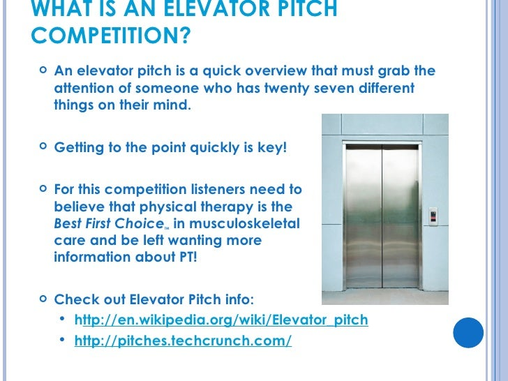 EIM\'s Elevator Pitch Competition