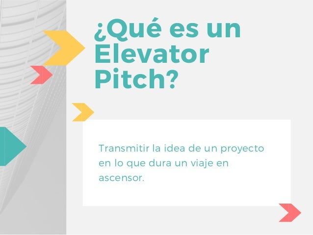 TALLER: Juega al Elevator Pitch y descubre tus fortalezas #JIEB2017 Slide 2