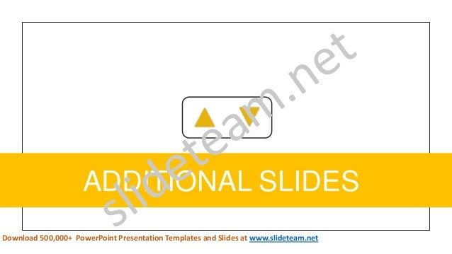 49 ADDITIONAL SLIDES Download 500,000+ PowerPoint Presentation Templates and Slides at www.slideteam.net