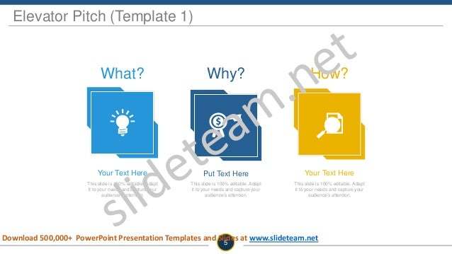 Why? Put Text Here This slide is 100% editable. Adapt it to your needs and capture your audience's attention. How? Your Te...