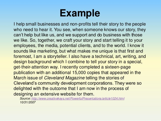 Elevator Pitch Template. Speech Example Essay On Service With