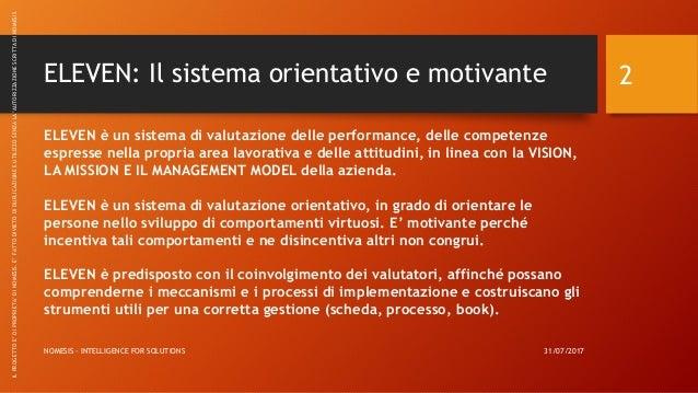 ELEVEN: Appraisal System - Nomesis Slide 2