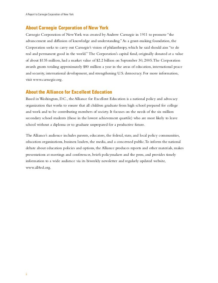 Effective strategies to improve adolescent writing 4 a report to carnegie corporation of fandeluxe Image collections