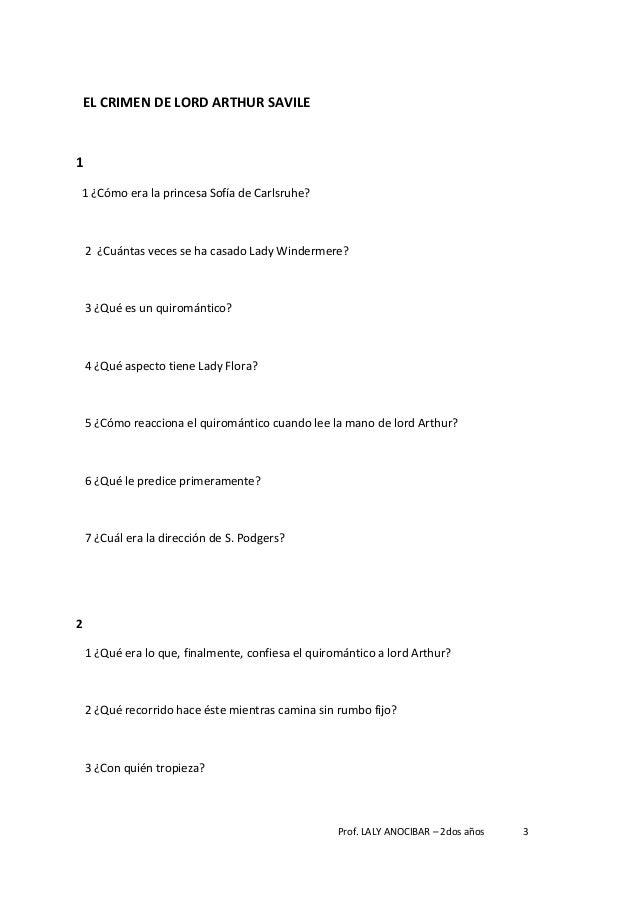 El fantasma de canterville preguntas