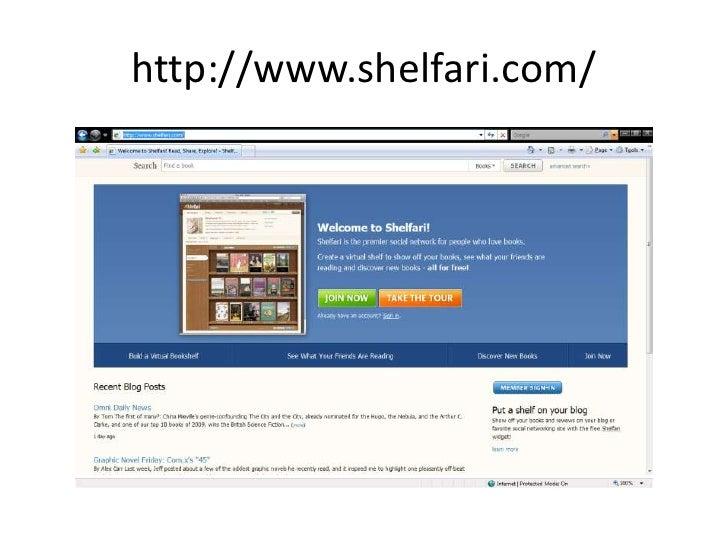 http://www.shelfari.com/<br />