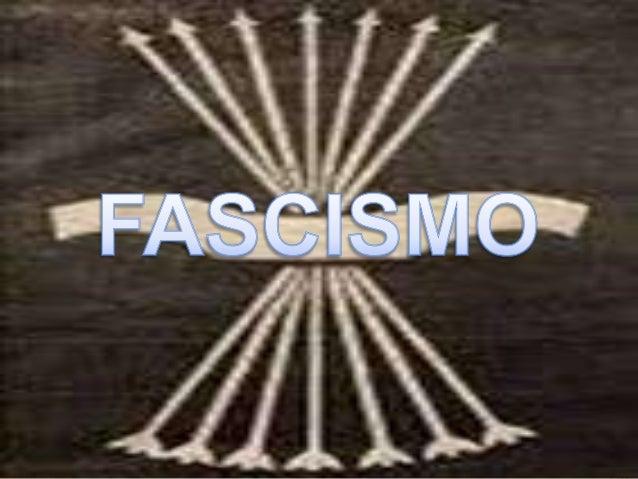 """Fascista proviene de """"fascio"""" conjunto de varas, insignia de ciertos magistrados de Roma antigua, símbolo de autoridad."""